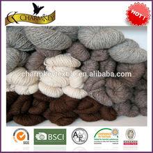 homie hand work solid color wholesale knitting wool yarn