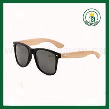 Black matte sunglasses plastic wood sunglasses