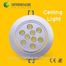 Elegant 1200lm 12w Dishing Ceiling Light