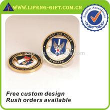Design personalizado de Metal artesanato Challenge Coin