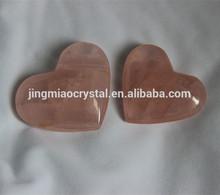 2015 Lovely Gift Natural rose quartz crystal hearts