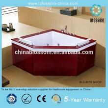 High quality heart shaped bathtub