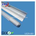 iluminação comercial de alumínio e pc de suspensão de luz com a asa em forma de pingente de refletor tubo