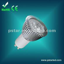 3*2w gu10 dimmable bridgelux led bulb