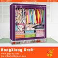 Mobília do quarto impermeável dobrável tecido armário guarda-roupa