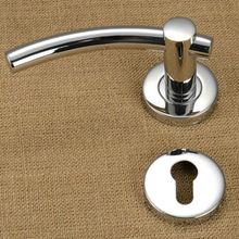Hafele heat resistant tubular polished stainless steel door lever handle