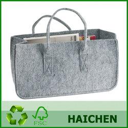 High quality eco-friendly felt storage bag , Multi-purpose felt storage bag