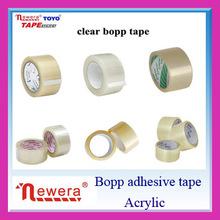 Hot Sales Bopp Carton Sealing Adhesive Sticker