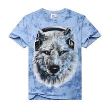 Fashion custom 3d t shirt,3d animal t-shirts,3d shirt