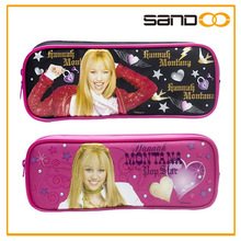 Hannah Montana pencil bag for girls, cute cheap pencil case for teenagers