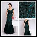 Sexy erwachsene foto neue design-klassiker mode abendkleid 2014 abendkleid lange Überwurfhülse kleid abend
