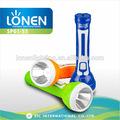 Lonen alta calidad 1 W tamaño grande exterior de emergencia alta calidad destacan recargable de la antorcha