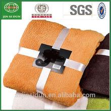 100% Polyester Microfiber Cheap Fleece Blanket For Sale