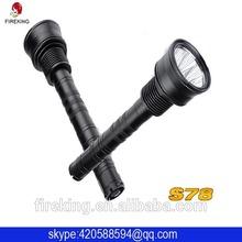 Aluminum alloy waterproof highlight for police flashlight