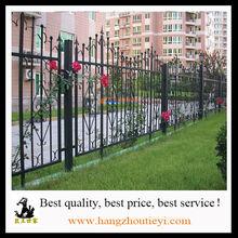Fencing, Trellis Gates Type and Powder Coated Frame Finishing wrought iron fence