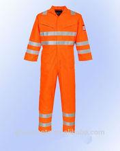 Hi-vis reflective overalls fire retardant workwear coveralls