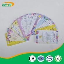 4 Color Printing Plastic Greeting Card