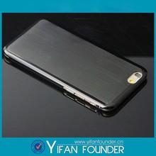 Cheap aluminum bumper case for iphone 6,OEM custom design brushed aluminum phone case covers