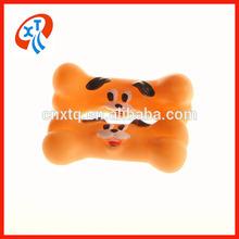 Eco-friendly pvc funny squeaky pet toys dog bone vinyl toy
