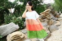 wholesale chinese fashional new model thick plain dress