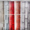 klasik tuğla sıcak satış kendinden yapışkanlı dekoratif duvar kağıdı