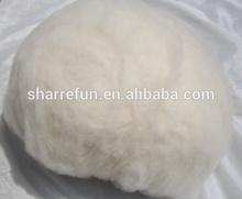 Fine Chinese white cashmere fiber SGS offer