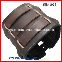 Wholesale Rock Style Mens Leather Bangle Bracelet