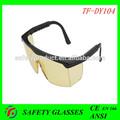 Con estilo anti- cero de protección de la lente gafas de seguridad en166/z87 ansi