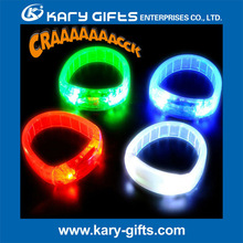 Multi Colors Sound Sensor LED Wrist Bands