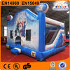 EN14960 CE popular kids toys commercial frozen bouncy castle with slide combo