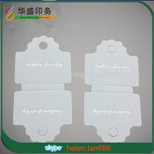 Hot sale custom paper bracelet display card