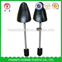 Adjustable plastic shoe tree