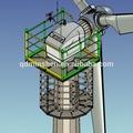 60kw gerador de energia eólica com 25m diâmetro do rotor