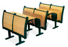 Price Commerial School Furniture Desk and Chair (K603-3)