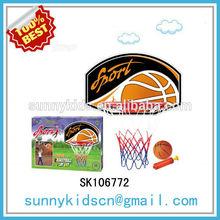 2014 kids mini plastic basketball hoop basketball toy
