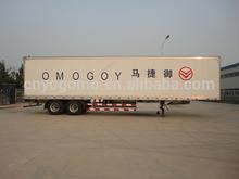 semi trailer and van box/FRP/refrigerated dry cargo truck body/aluminum semi trailer