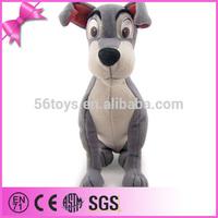 2014 Hot Sale Good Quality Cuddyly Toys Huge Animal police dog plush toys
