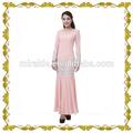 mf22476 zarif pembe el nakış jubah müslüman elbise