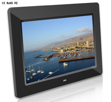 10.1Inch 1024x600 High Resolution video blue film Digital Photo Frame MP3/MP4 Ebook and Video Player White and Black