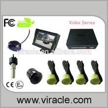 Video ultrasonic parking sensor with buzzer alarm