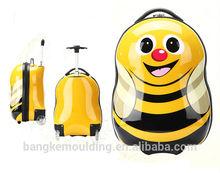 ABS PC film cute animal print kids luggage