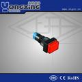 Led 10mm enclavamiento botón interruptor/interruptor de botón 60947-5-1 iec
