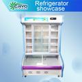 Comercial geladeira vitrine de padaria, refrigerado cake showcase, padaria freezer