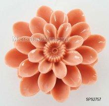 2012 Rose flower synthetic turquoise gemstone beads