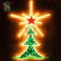 Nuevo diseño de guirnalda para árbol de Navidad, luces con diseño para decoración de fiestas