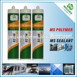 No silicone mutli-purpose adhesives sealant Ms polymer glue for bonding aluminum