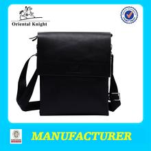 Long strap mens leather messenger bag wholesale