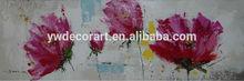 Original Design handmade oil painting abstract flower design for decoration