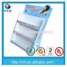 Cardboard Cupcake Retail Floor Display Stand,Hot Food Display Rack,Cardboard 3-Tier Cupcake Stand