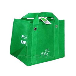 Recycled non-woven shopping bag
